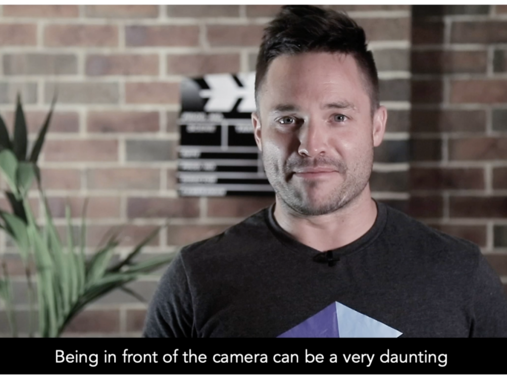 screenshot from DreamCube Productions' video to show subtitles how important for video marketing.