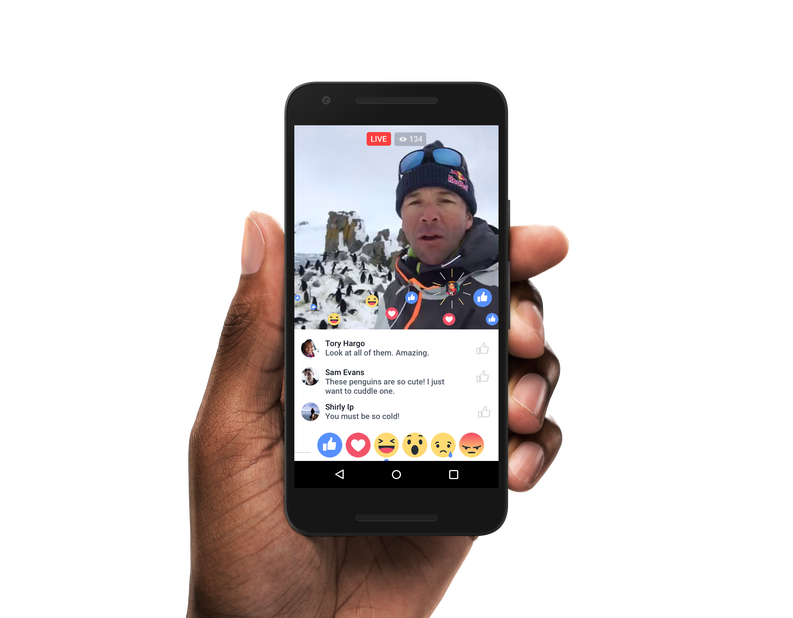 Facebook Video Live